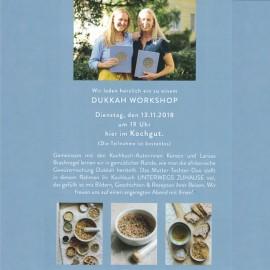 Dukkah Workshop
